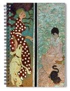 Bonnard: Women, 1891 Spiral Notebook