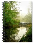 Bonneyville Mill Waterfall Spiral Notebook