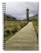 Bonnie Prince Charlie Monument Spiral Notebook