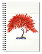 Bonsai Tree - Inaba Shidare Spiral Notebook