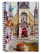 Bonsecours Church Spiral Notebook
