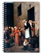 Bonvin: Charity, 1851 Spiral Notebook