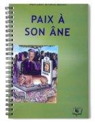 Book Cover Paix A Son Ane Spiral Notebook
