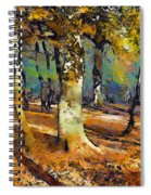 Booker Woods Spiral Notebook