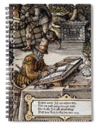 Bookkeeper, 16th Century Spiral Notebook