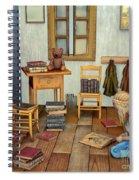 Bookworm Spiral Notebook