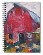 Boompa's Barn Spiral Notebook