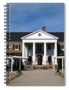 Boone Hall Plantation Charleston Sc Spiral Notebook