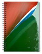 Boot Stripe Spiral Notebook