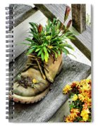 Booted Plant Spiral Notebook