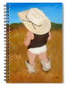 Boots And Skivvies Spiral Notebook