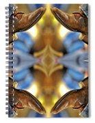 Boots Kaleidoscope Spiral Notebook
