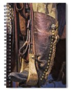 Boots Of A Drover 2015 Spiral Notebook