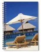 Bora Bora, Beach Spiral Notebook