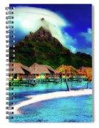 Bora Bora Spiral Notebook
