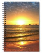 boracay,Philippians 4 Spiral Notebook