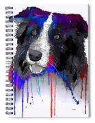 Border Collie Spiral Notebook