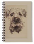 Border Terrier Spiral Notebook
