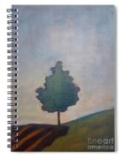 Bordering Tree Spiral Notebook