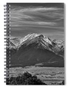 Boreas Mountain And Siblings Spiral Notebook