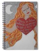 Borghild Spiral Notebook