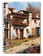 Borgo Di Montagna Spiral Notebook