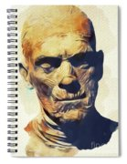 Boris Karloff, The Mummy Spiral Notebook