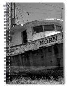 Born Free Spiral Notebook