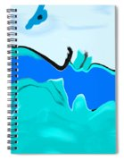 Born Of The Ocean Spiral Notebook