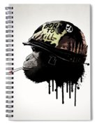 Born To Kill Spiral Notebook