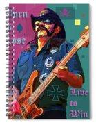 Born To Lose. Live To Win. Spiral Notebook