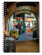 Borough Market Spiral Notebook