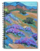 Borrego Springs Verbena Spiral Notebook