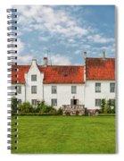 Bosjokloster Monastery Castle Facade Spiral Notebook