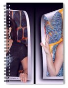 Bossom Buddies - Gently Cross Your Eyes And Focus On The Middle Image Spiral Notebook
