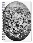 Boston 1860 Spiral Notebook