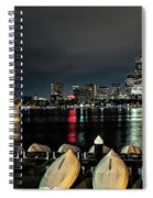 Boston Along The Charles River Spiral Notebook