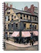 Boston: Bookshop, 1900 Spiral Notebook