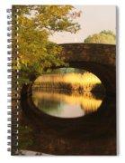 Boston Bridge Reflections Spiral Notebook