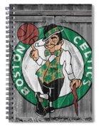 Boston Celtics Barn Doors Spiral Notebook