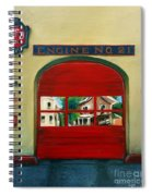 Boston Fire Engine 21 Spiral Notebook