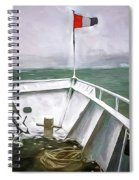 Boston Harbor Cruise  Spiral Notebook
