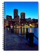 Boston Harbor Walk Spiral Notebook