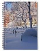 Boston Ma Granary Burying Ground Tremont St Grave Stones Spiral Notebook