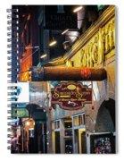 Boston Ma North End Cigar Shop Spiral Notebook