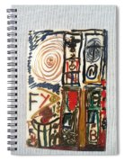 Boston Marathon Memorial Spiral Notebook