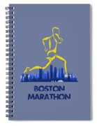 Boston Marathon5 Spiral Notebook