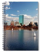 Boston On The Charles  Spiral Notebook