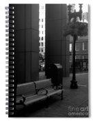 Boston Park Bench And Lantern Spiral Notebook