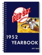 Boston Red Sox 1952 Yearbook Spiral Notebook